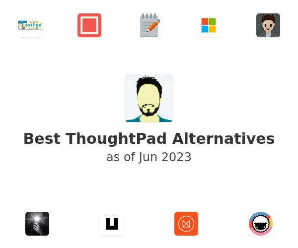 Best ThoughtPad Alternatives