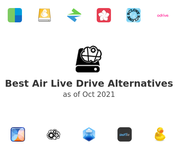 Best Air Live Drive Alternatives