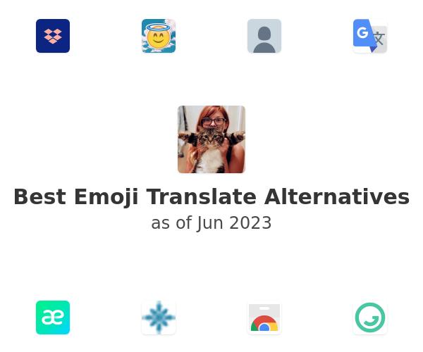 Best Emoji Translate Alternatives