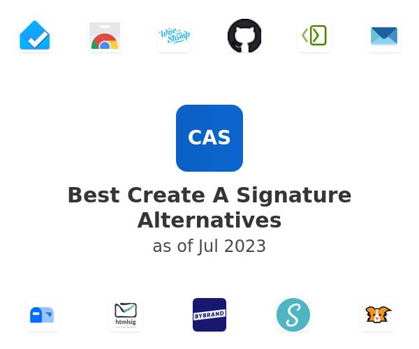 Best Create A Signature Alternatives