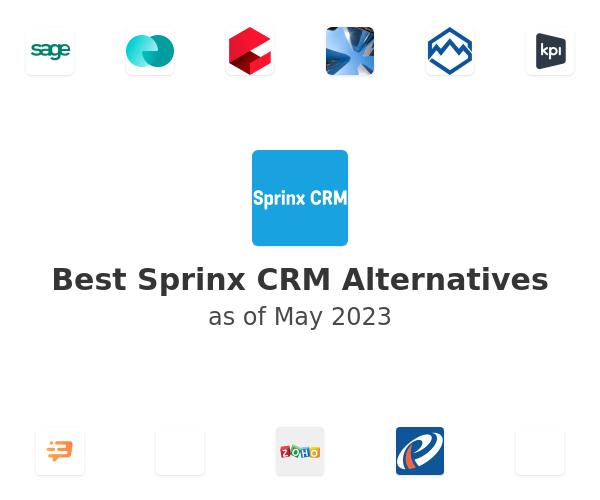 Best Sprinx CRM Alternatives