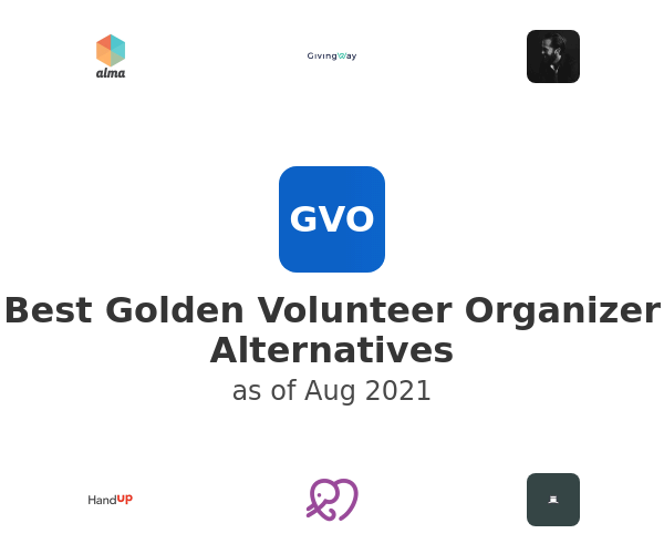 Best Golden Volunteer Organizer Alternatives