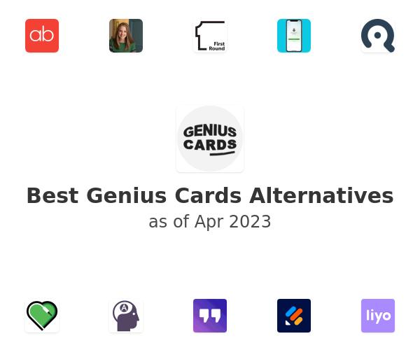 Best Genius Cards Alternatives