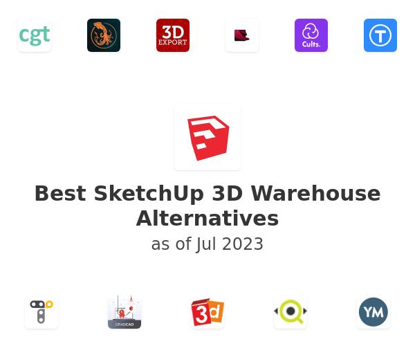 Best SketchUp 3D Warehouse Alternatives