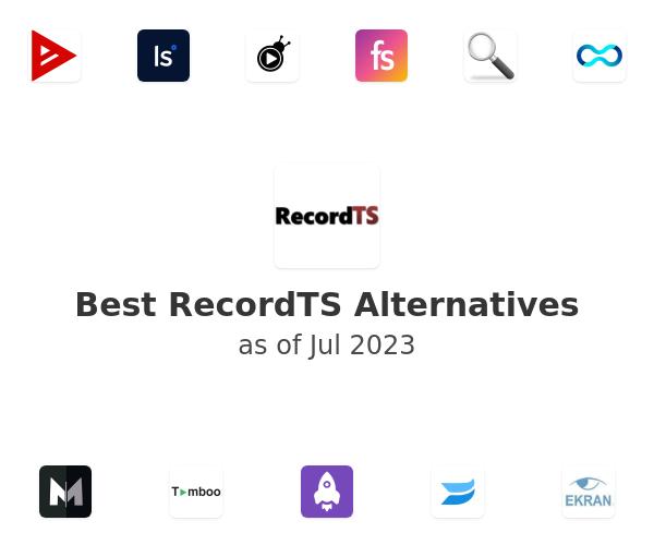Best RecordTS Alternatives