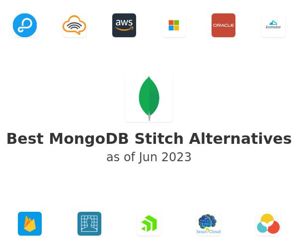 Best MongoDB Stitch Alternatives