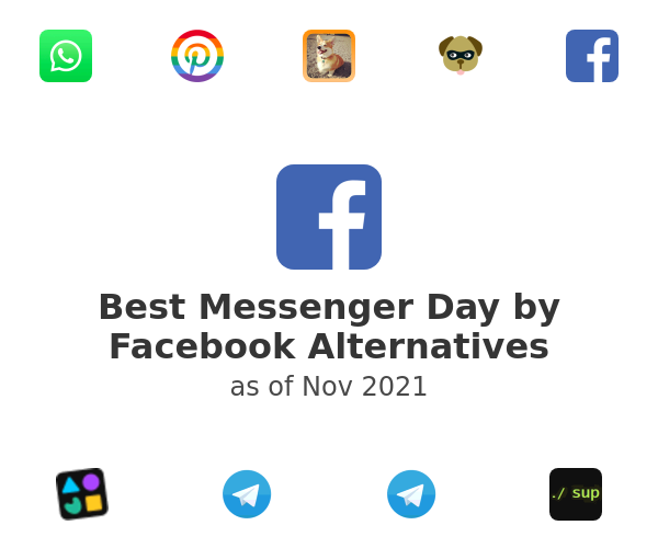 Best Messenger Day by Facebook Alternatives