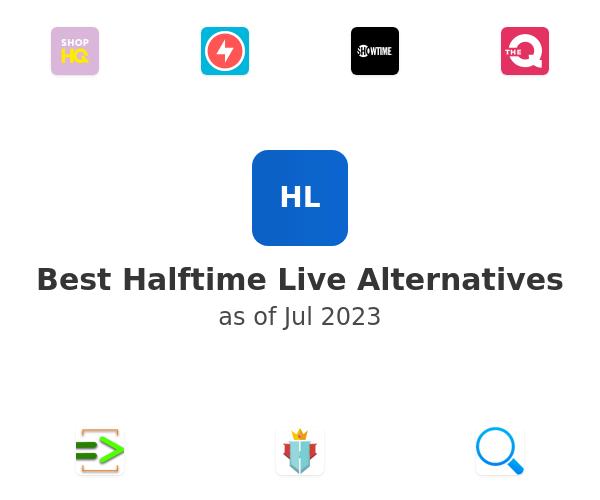 Best Halftime Live Alternatives