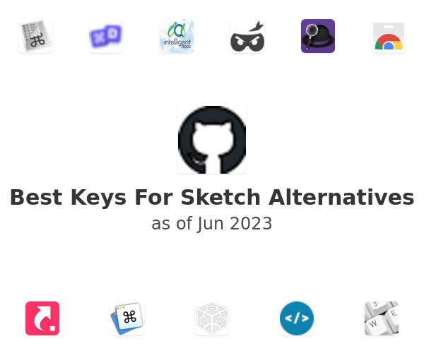 Best Keys For Sketch Alternatives