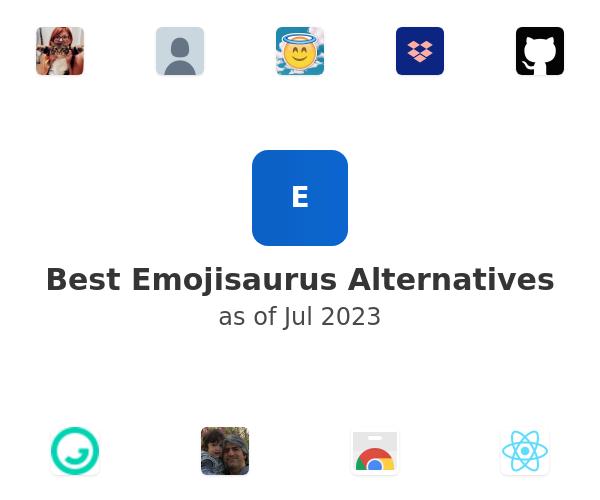 Best Emojisaurus Alternatives