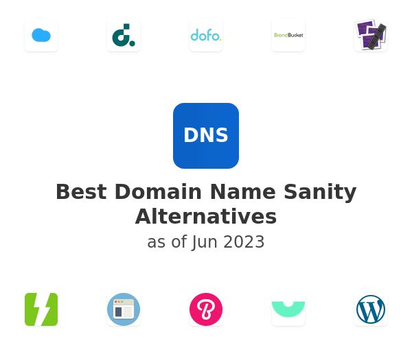 Best Domain Name Sanity Alternatives