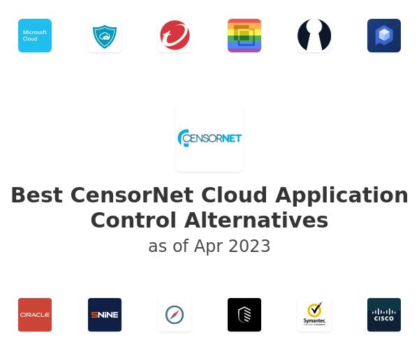 Best CensorNet Cloud Application Control Alternatives