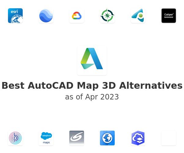Best AutoCAD Map 3D Alternatives