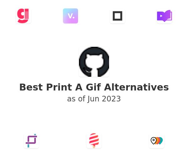 Best Print A Gif Alternatives