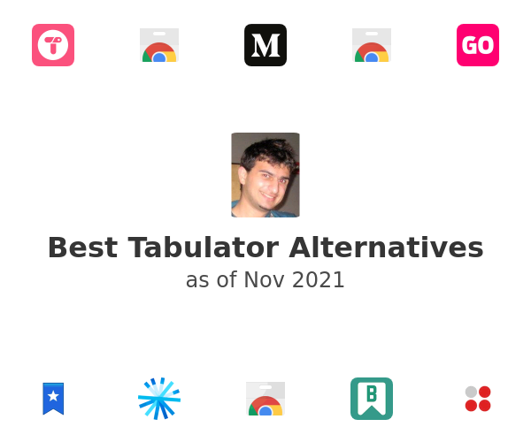 Best Tabulator Alternatives