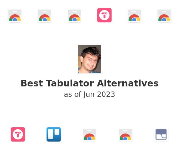 Best Tabulator Alternatives