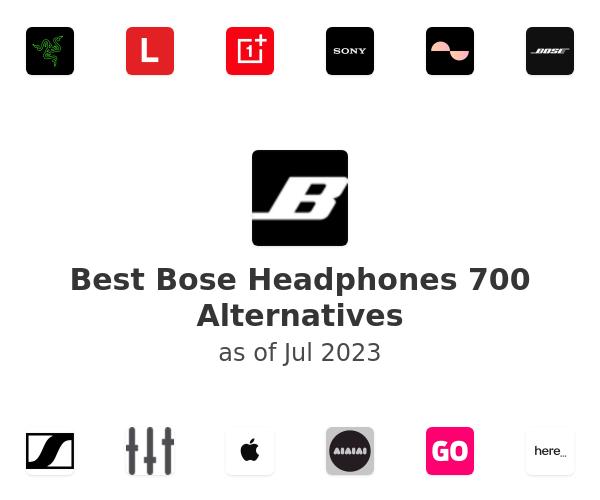 Best Bose Headphones 700 Alternatives