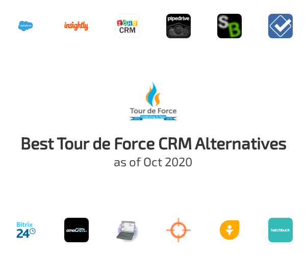 Best Tour de Force CRM Alternatives