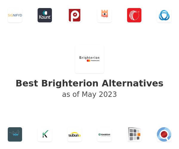 Best Brighterion Alternatives