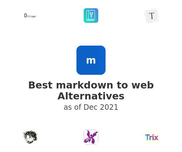 Best markdown to web Alternatives