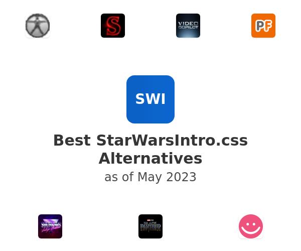 Best StarWarsIntro.css Alternatives