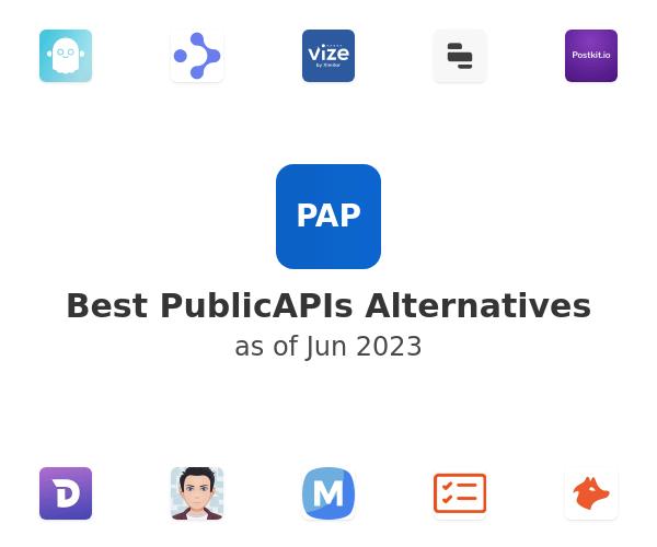 Best PublicAPIs Alternatives