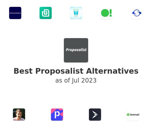 Best Proposalist Alternatives