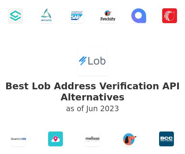 Best Lob Address Verification API Alternatives