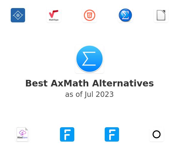 Best AxMath Alternatives