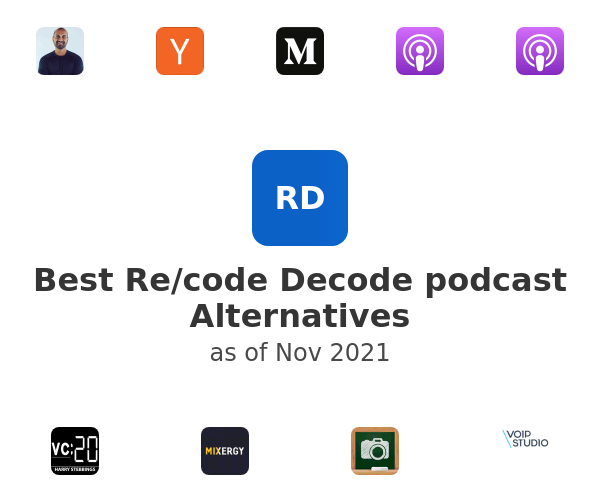 Best Re/code Decode podcast Alternatives