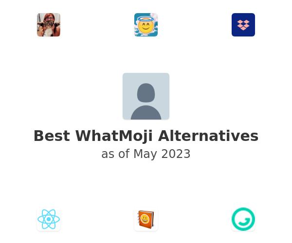 Best WhatMoji Alternatives