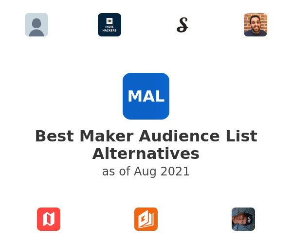 Best Maker Audience List Alternatives