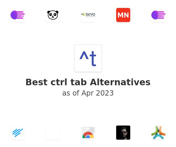 Best ctrl tab Alternatives