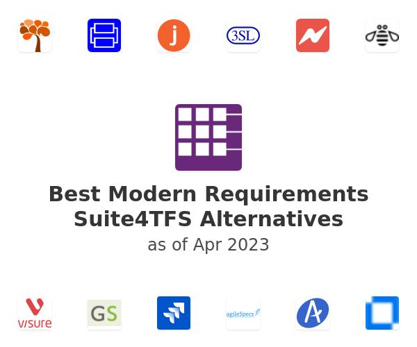 Best Modern Requirements Suite4TFS Alternatives
