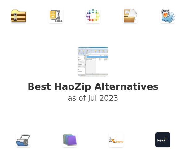 Best HaoZip Alternatives