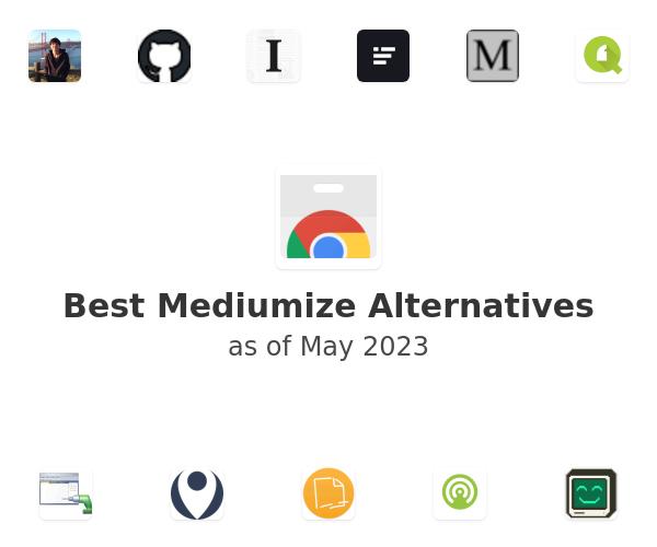 Best Mediumize Alternatives