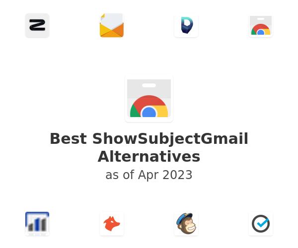 Best ShowSubjectGmail Alternatives