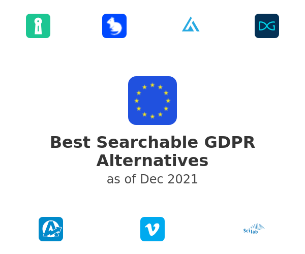Best Searchable GDPR Alternatives