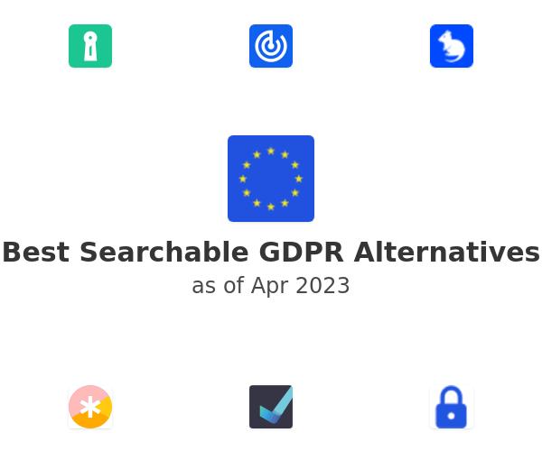 Best Searchable GDPR Alternatives