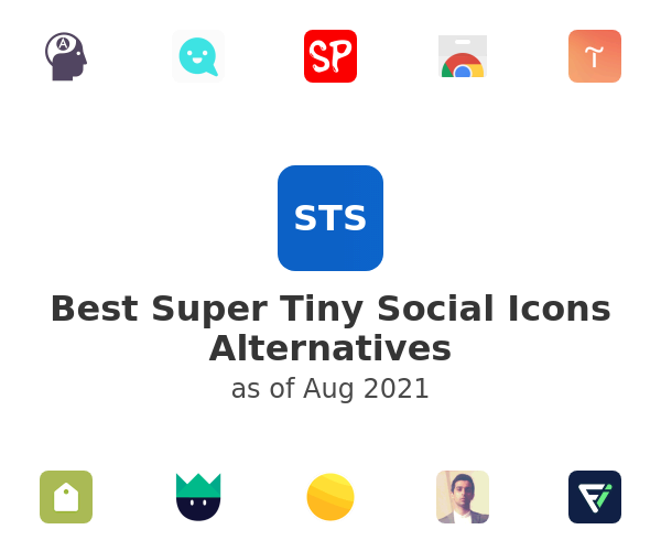 Best Super Tiny Social Icons Alternatives