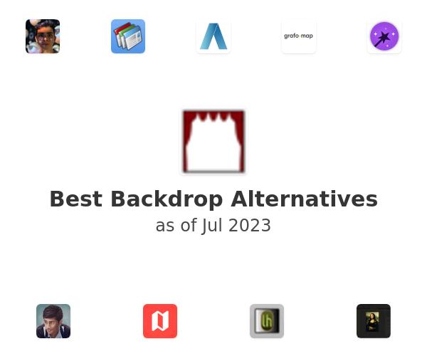 Best Backdrop Alternatives