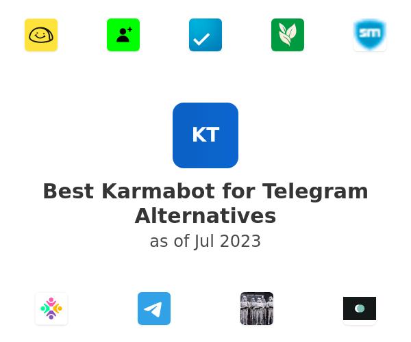 Best Karmabot for Telegram Alternatives