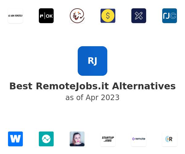 Best Remote Jobs Alternatives