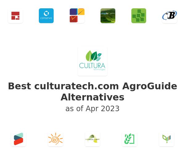 Best AgroGuide Alternatives