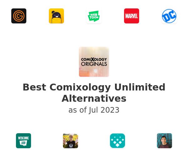 Best Comixology Unlimited Alternatives