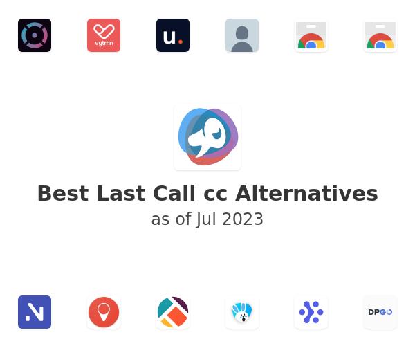 Best Last Call cc Alternatives