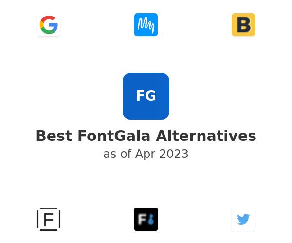 Best FontGala Alternatives