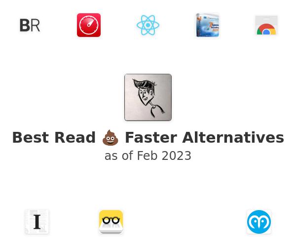 Best Read 💩 Faster Alternatives