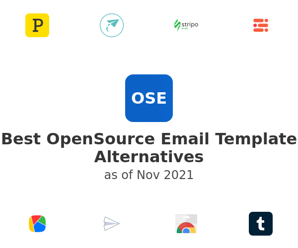 Best OpenSource Email Template Alternatives