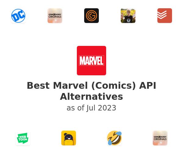 Best Marvel (Comics) API Alternatives
